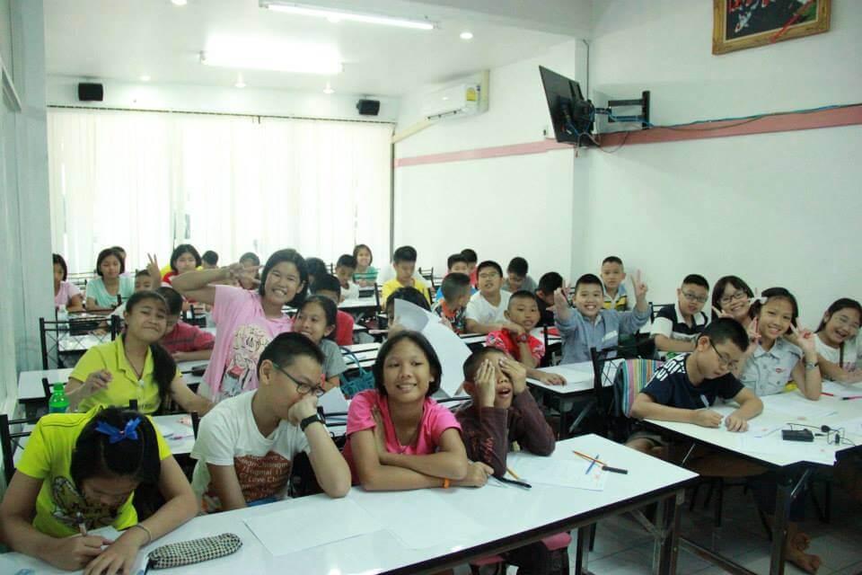 หลักแกรมม่าและติวเข้มข้อสอบสำหรับชั้นประถม-มัธยมต้น ที่สาขา SAMOS Center