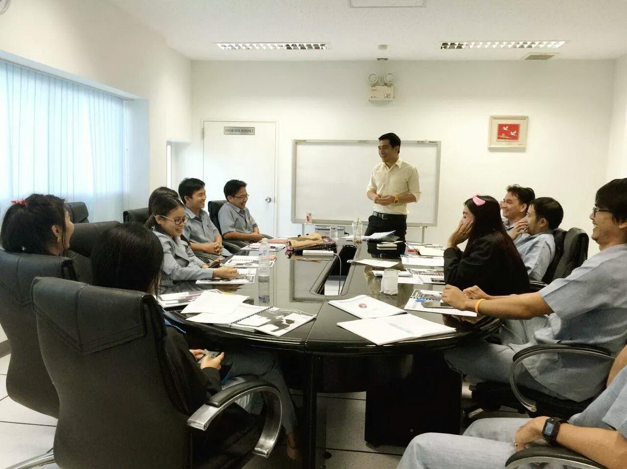 อบรมภาษาที่บริษัท FMCP English