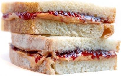 อาหารยามชิวๆ ของครูเม..  Peanut Butter Sandwich!