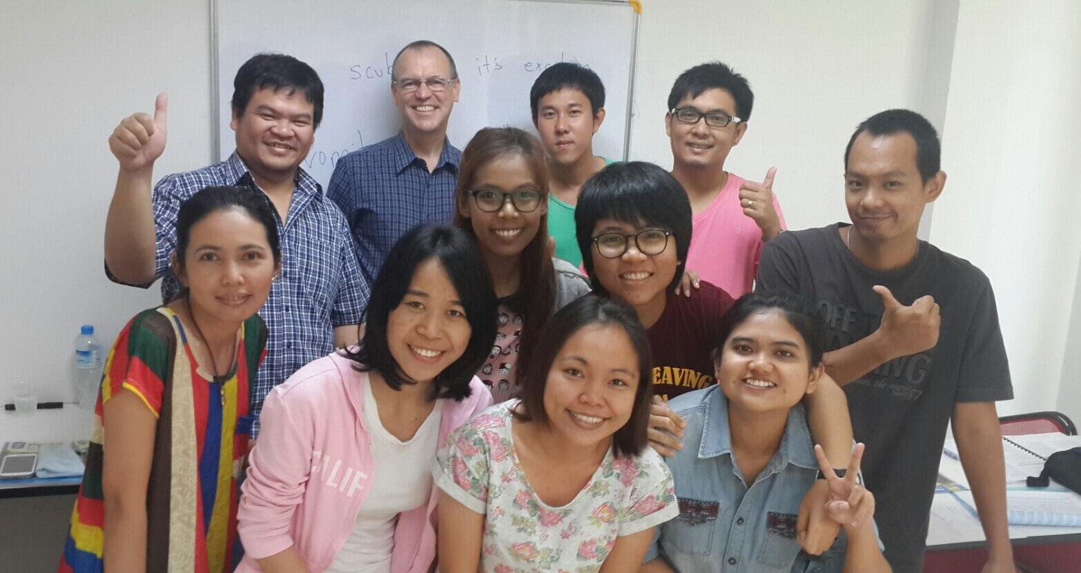เรียนภาษาอังกฤษ ชลบุรี