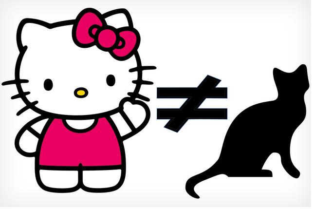 โลกจะแตกแล้ว!!!  Hello Kitty ไม่ใช่แมว!!! แล้วชีคือตัวอะไร?